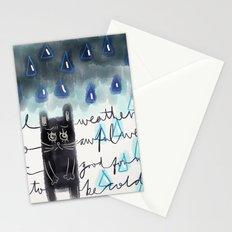 Rain-Not-Friendly Stationery Cards