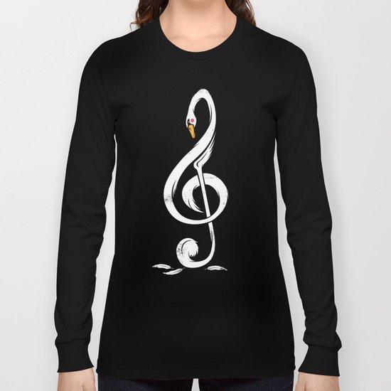 Swan's Melody Long Sleeve T-shirt