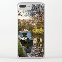 An Autumn Afternoon At Hungerford Clear iPhone Case