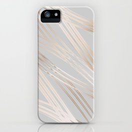 Gradient and Lines iPhone Case