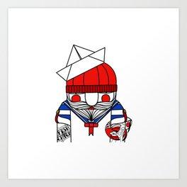 Loveboat Art Print