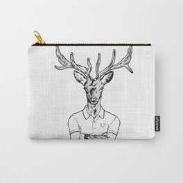 bambi's a grown up now  Black Carry-All Pouch