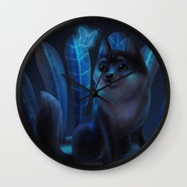 Light in the night Wall Clock