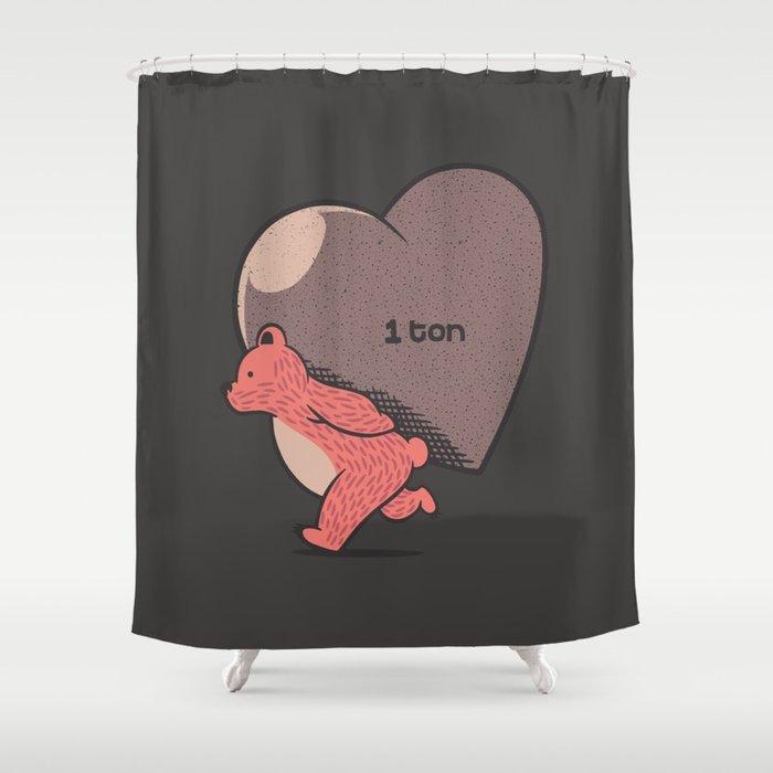 Bear My Love Shower Curtain