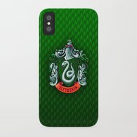 slytherin iPhone & iPod Cases featuring SLYTHERIN  by Smart Friend