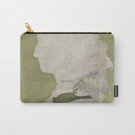 Anne Brontë Agnes Grey - Minimalist literary design Carry-All Pouch