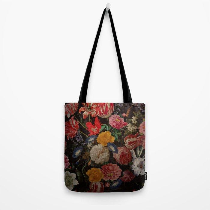 Vintage & Shabby Chic - Dutch Midnight Garden I Tote Bag