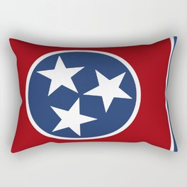 Tennessee: Tennessean Flag Rectangular Pillow