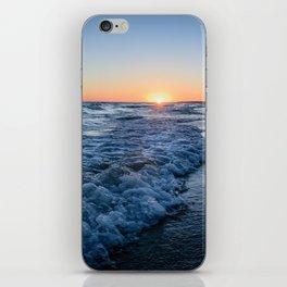 Sunset at the beach in 'Atlántida, Uruguay' iPhone Skin
