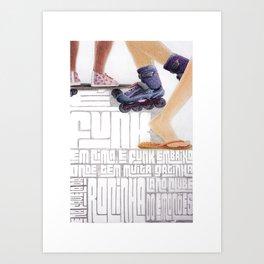 Rio - Endereço dos Bailes Art Print