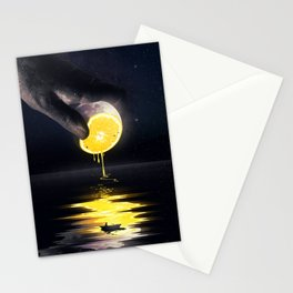 Le Moon Stationery Cards