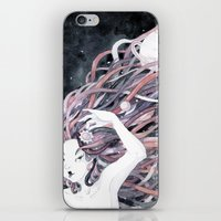 solar system iPhone & iPod Skins featuring Solar System by Mana De Alba