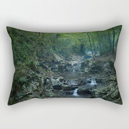 Nature photography. Zugarramurdi Cavern, Navarra, Spain.  Rectangular Pillow