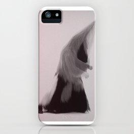 hairy iPhone Case