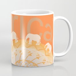 Africa elefants Coffee Mug
