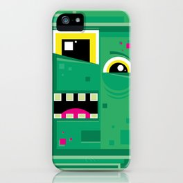 Zombieguy iPhone Case