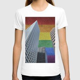 Houston LGBTQ Pride Skyline T-shirt