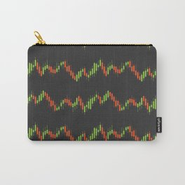Stock market graph Carry-All Pouch