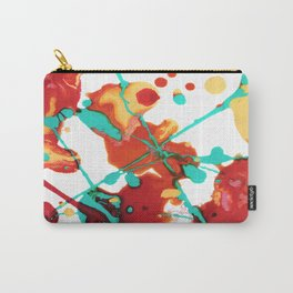 Paint Party 1 Abstract Carry-All Pouch