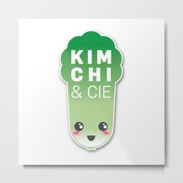 Kimchi & Cie - Official logo Metal Print