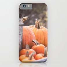 pumpkins + milk cans iPhone 6s Slim Case