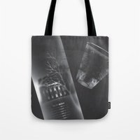 vodka Tote Bags featuring Vodka Visions by Andrea Jean Clausen - andreajeanco