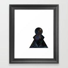 Nebula's Key Framed Art Print