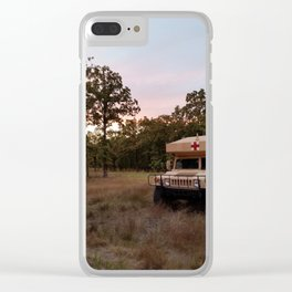 Stand-by Clear iPhone Case
