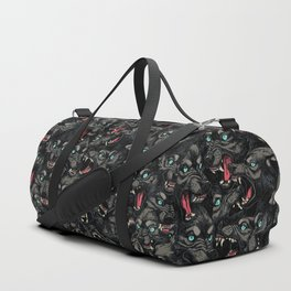 Wolf Pack Pattern Duffle Bag