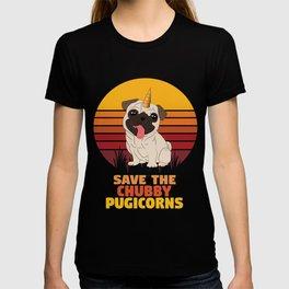 Save the chubby Puggicorn T-shirt