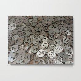 lost faces Metal Print