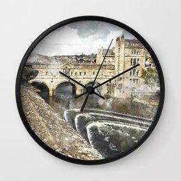Bath England Wall Clock