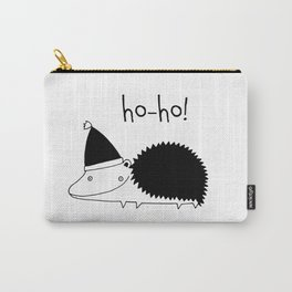 Fun Scandinavian Christmas art for techies Carry-All Pouch