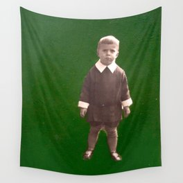 Green nostalgia Wall Tapestry