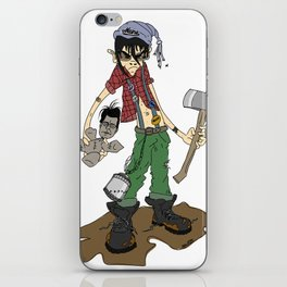 """Cordwood Pete""  iPhone Skin"