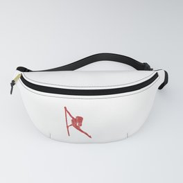 USA Pole Dancers Classes Fitness Pole Dancing American Flag Gift Fanny Pack