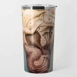 Trapped In This Idea - Rustic Travel Mug