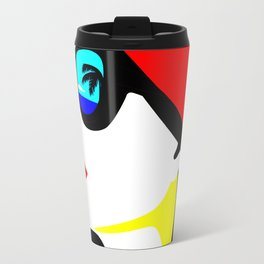 tropical woman Travel Mug