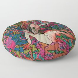 Fill the Void Floor Pillow