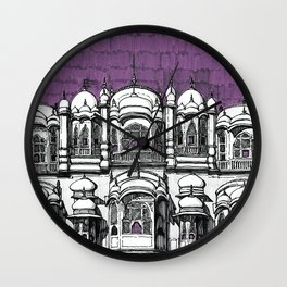Hawa Mahal (Tyrian) Wall Clock