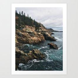 Coastal Acadia Art Print