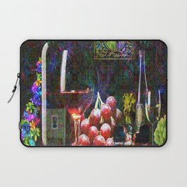 """More Wine"" by surrealpete Laptop Sleeve"
