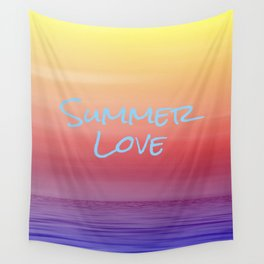 Summer Love Wall Tapestry
