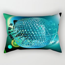 Time and the creation of planets Rectangular Pillow