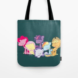 My little little ponies Tote Bag