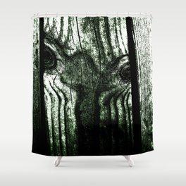 Freak in a tree Shower Curtain