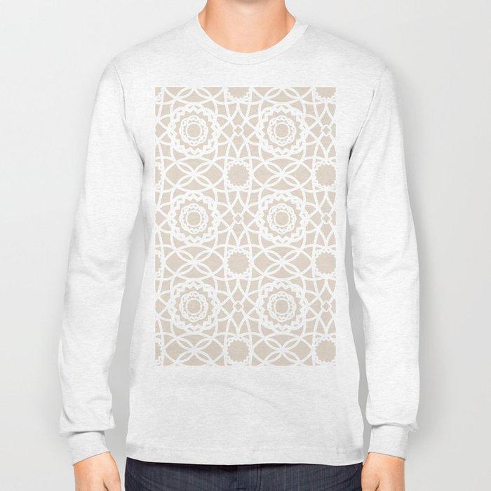 Palm Springs Macrame Lattice Lace Long Sleeve T-shirt