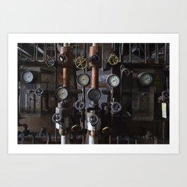 Knobs Art Print