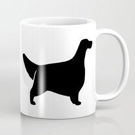 English Setter Silhouette Coffee Mug