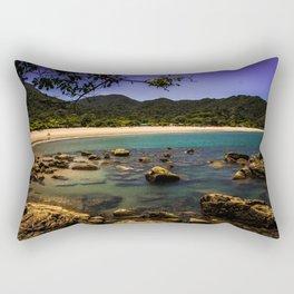 Camburi Beach Rectangular Pillow
